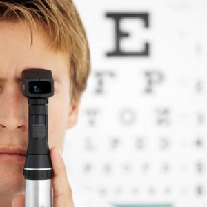 Eye Test with Test Chart